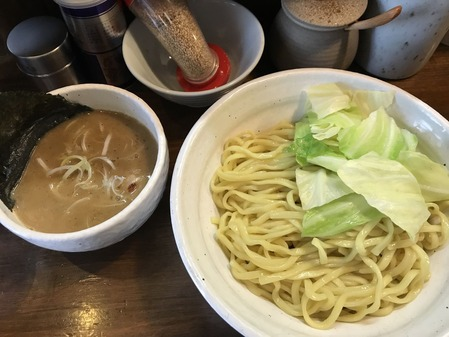 四種の魚のつけ麺