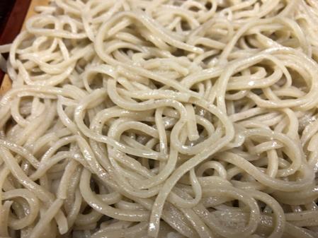 北海道沼田産の新蕎麦