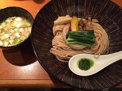 牡蠣味噌つけ麺