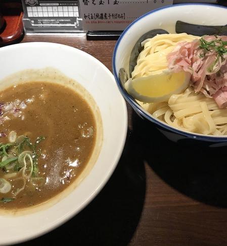 純濃煮干つけ麺