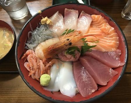 魚河岸丸天丼