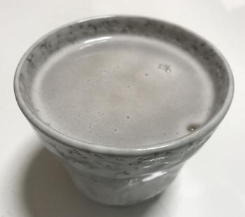 蕎麦湯割り
