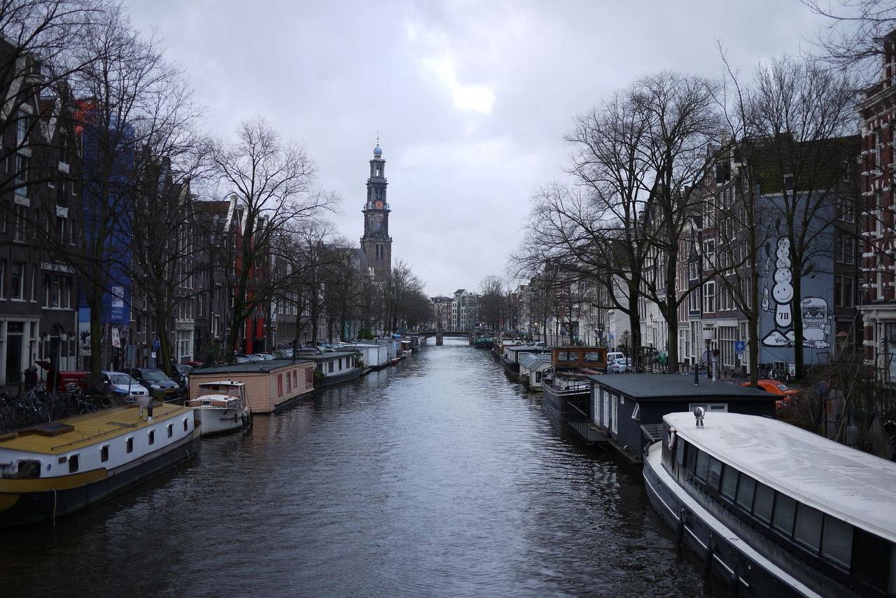 P1070131 9時すぎなのにまだ暗い。運河沿いの道をとぼとぼ歩く。やっぱここは行ってお...