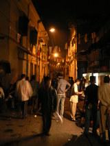 夜のサダルストリート