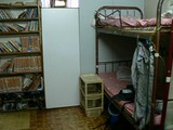 俺のベッドはここ。