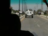国連平和維持軍の装甲車