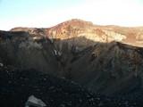 富士山火口