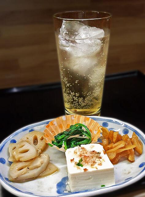 成増 ランチ 花水木 梅酒ソーダ