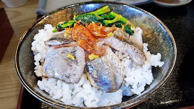 練馬 ランチ だいこん いわしの海鮮丼 ( いわし定食・ご飯 )
