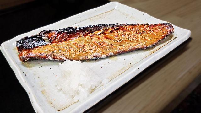 成増 ランチ 花水木 鯖 ( 焼き魚定食 )