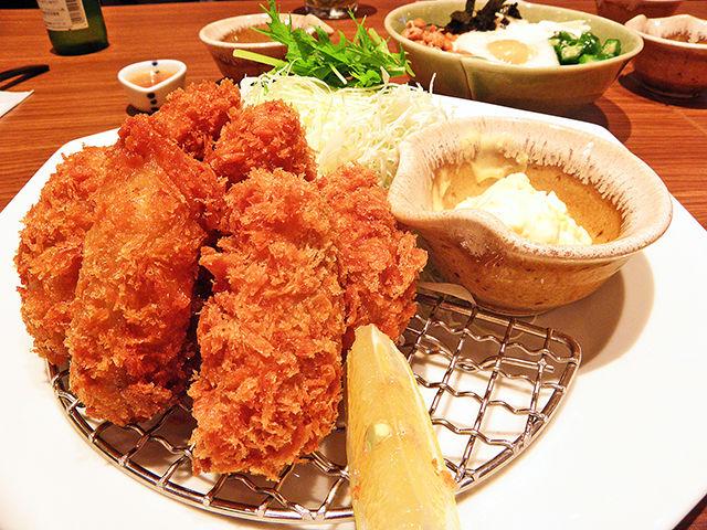 大戸屋 牡蠣フライ