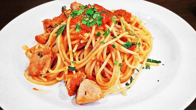成増 ランチ イタリアン unita ウニタ ディナー うに太 鶏肉のプッタネスカ