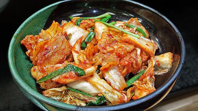 成増 ランチ 花水木 豚キムチ ( 定食 )