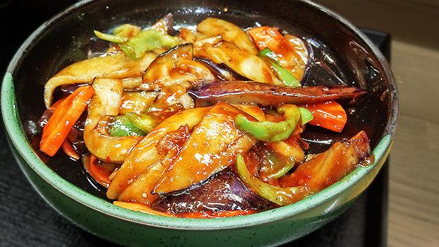 成増 ランチ 花水木 麻婆茄子 ( 定食 )