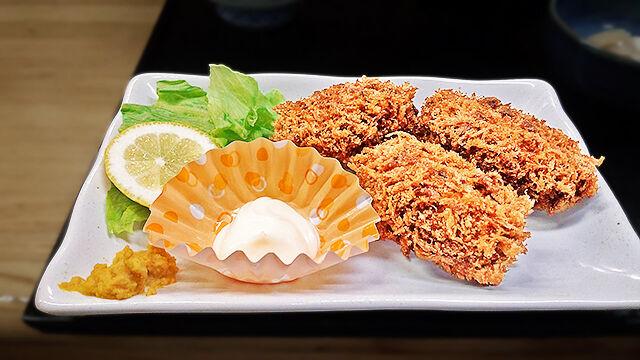 成増 ランチ 花水木 牡蠣フライ ( 定食 )