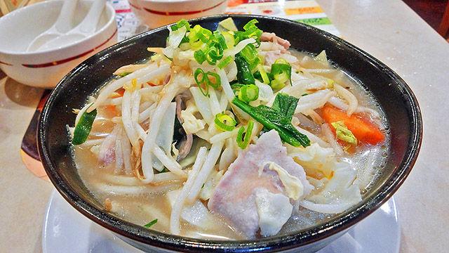 成増 ランチ ファミレス ガスト 1日分の野菜のベジ塩タンメン ( 大盛り )