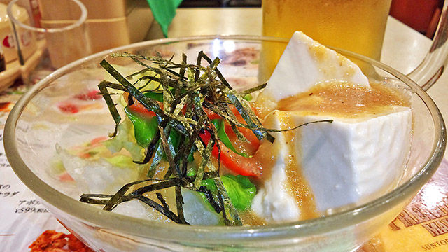 成増 ランチ ファミレス ガスト 豆腐サラダ