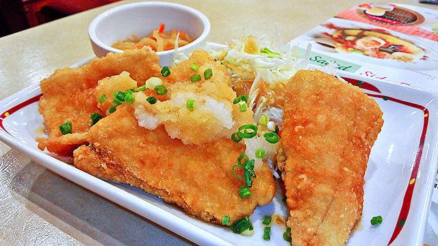 成増 ランチ ファミレス ガスト カレイの竜田揚げ おろしポン酢