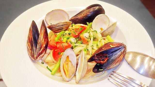 成増 ランチ イタリアン unita ウニタ ディナー うに太 魚介と野菜のパスタ