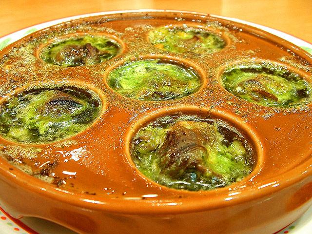 サイゼリヤ エスカルゴのオーブン焼き