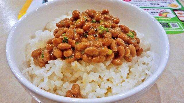 成増 ランチ ファミレス ガスト 納豆ご飯