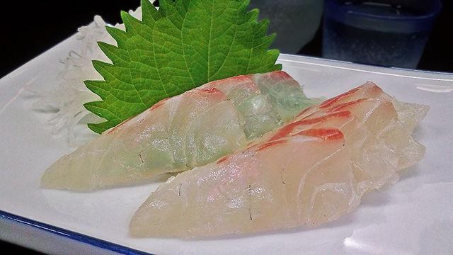成増 ランチ 花水木 鯛 ( 刺身 )