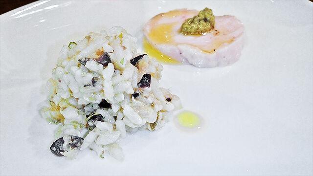 成増 ランチ イタリアン unita ウニタ ディナー うに太 お米のサラダ ( ランチ前菜 )