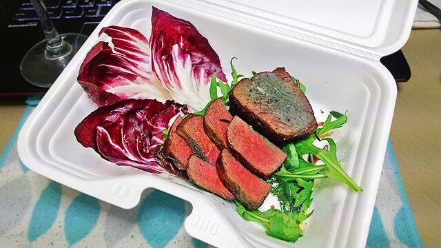 成増 テイクアウト イタリアン unita ウニタ 鹿ロース肉のロースト ランチ ディナー
