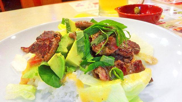 成増 ランチ ファミレス ガスト ステーキ・サラダ・ご飯