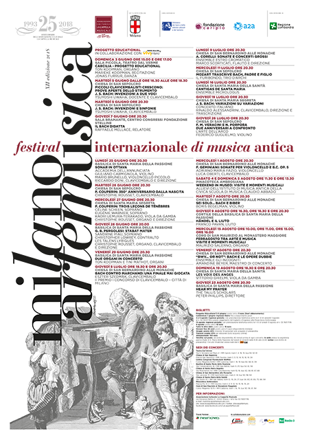 Milano Arte Musica 2018 Festival Internazionale di Musica Antica
