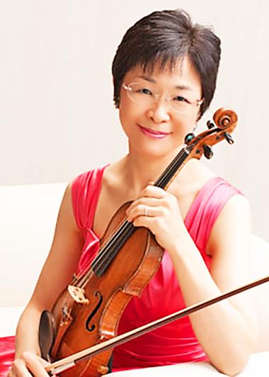 神山みどり かみやまみどり ヴァイオリン奏者 ヴァイオリニスト