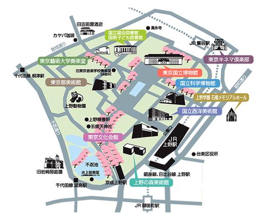 東京春祭2018 Map