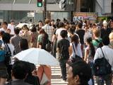 渋谷のスクランブル交差点3