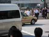 渋谷のスクランブル交差点2
