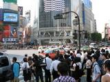 渋谷のスクランブル交差点1