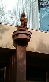 北海道ホテルの熊のオブジェ