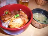 帯広豚はげの豚丼