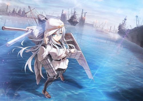 艦隊これくしょん 艦これ 第六駆逐隊・響 ヴェールヌイ 1200 852 画像 壁紙