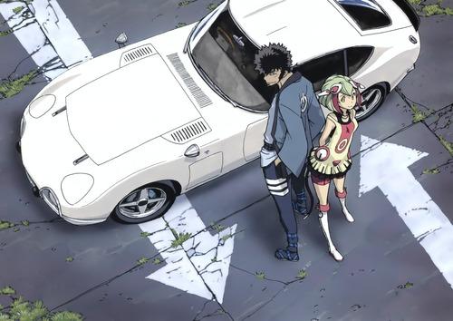 DimensionW マブチ キョーマ 百合崎 ミラ アンドロイド 車 2000GT 画像 壁紙