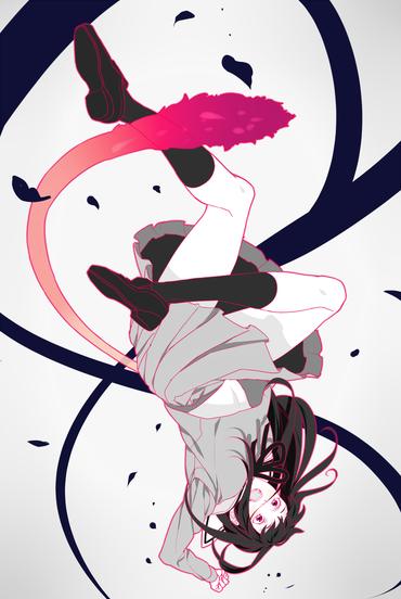 2次 アニメ ノラガミ noragami aragoto 壱岐ひより いきひより iki_hiyori 制服 スカート 尻尾 ふともも おしゃれ かわいい pc スマホ 縦長 壁紙 画像