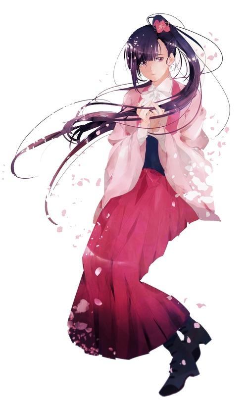 甲鉄城のカバネリ 菖蒲 あやめ かわいい きれい 1865 3047 画像 壁紙