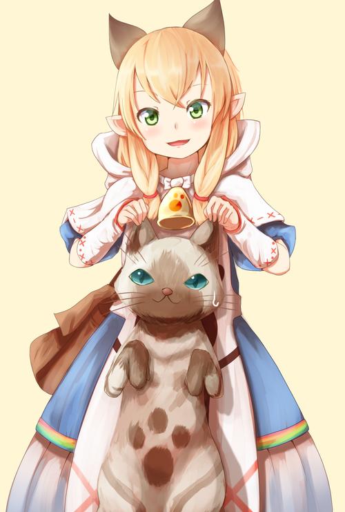 MHX モンスターハンタークロス ネコ嬢 カティ 画像 壁紙