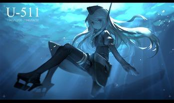 艦隊これくしょん 艦これ u-511 画像 壁紙