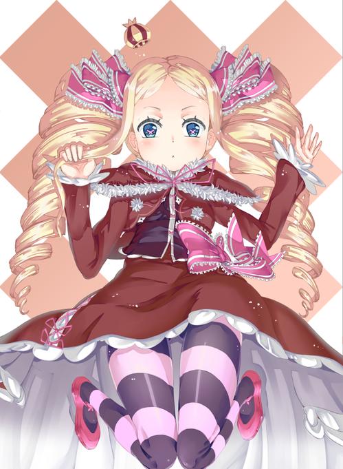 rezero リゼロ Reゼロから始める異世界生活 ベアトリス・ベア子・ベティー 金髪ツインテール ドリル 幼女・ロリ 660 900 画像・壁紙