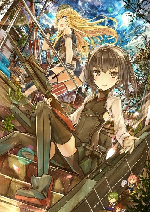 艦隊これくしょん 艦これ アイオワ 大鳳 艦娘 きれい・かわいい イラスト 画像 壁紙