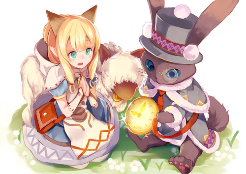 MHX モンスターハンタークロス ネコ嬢 カティ かわいい画像・壁紙