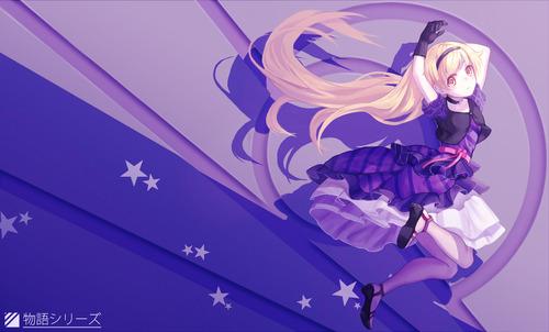 物語シリーズ 化物語 忍野忍(おしのしのぶ) ドレス・ゴスロリ 1800 1086 画像 壁紙