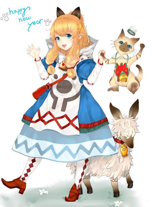 MHX モンスターハンタークロス ネコ嬢 かわいい画像 壁紙