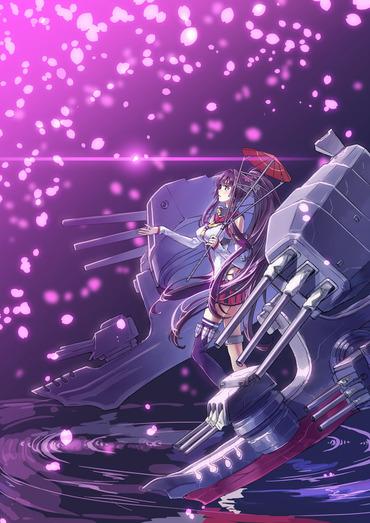 2次 艦隊これくしょん kantai_collection 艦これ kancolle 大和 やまと yamato pc スマホ 縦長 画像 壁紙