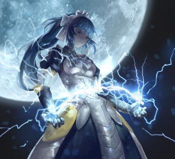オーバーロード overlord プレアデス ナーベラル ガンマ メイド 第7位階魔法 画像 壁紙